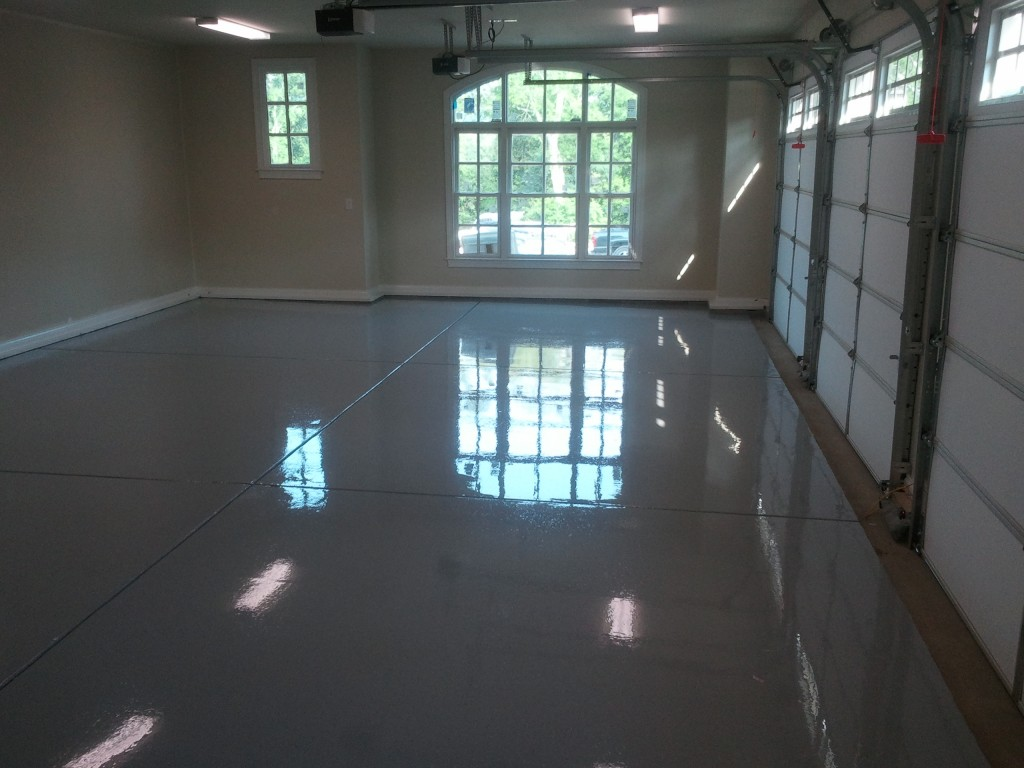 Garage Epoxy Flooring TKO Concrete Nashville TN