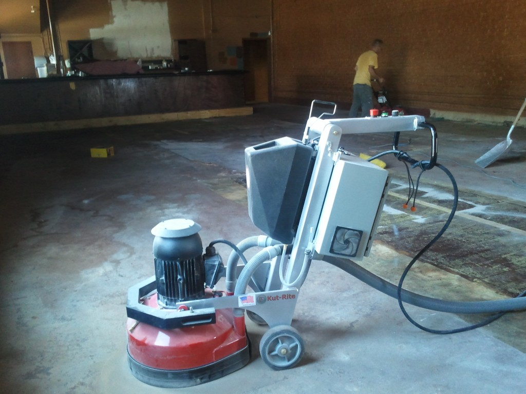 concrete floor leveling and repairs nashville