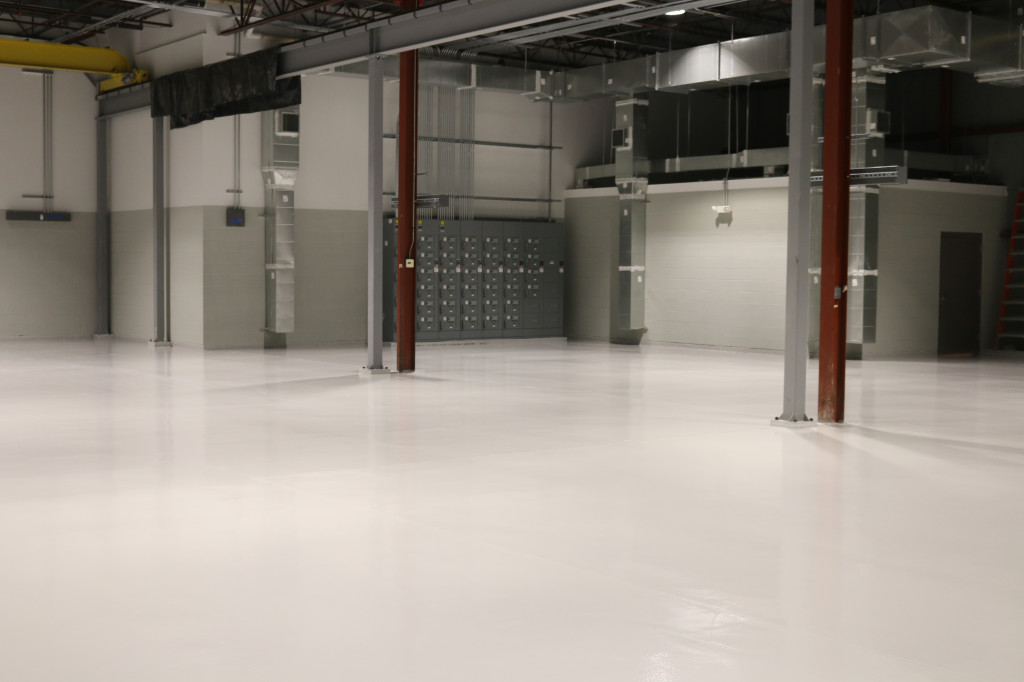 industrial garage flooring