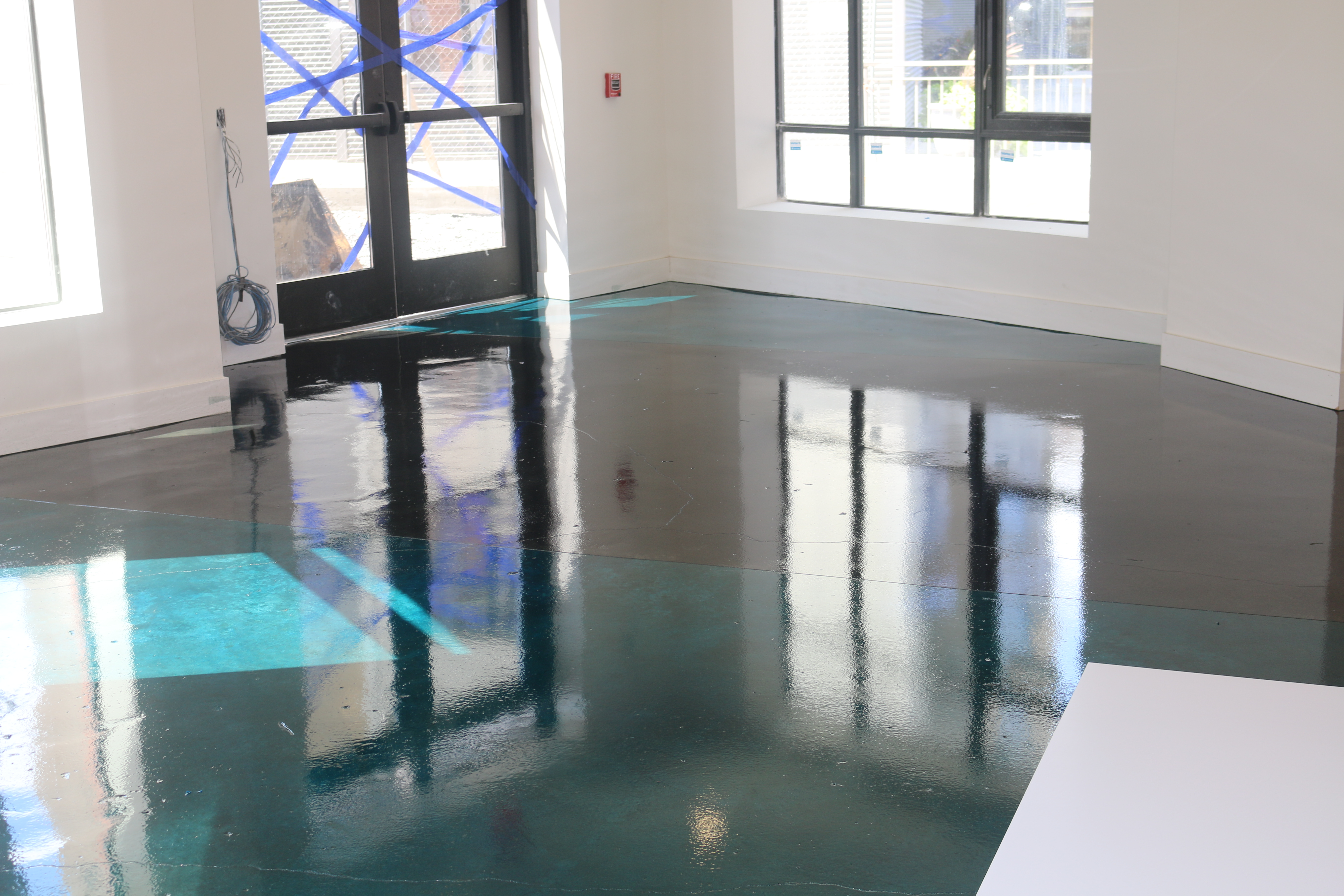 Stained Concrete Clear Epoxy Nashville